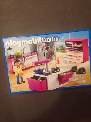 PLAYMOBIL LUXUS VILLA Küche City Life 5582