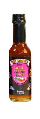 ***On Sale Now!!*** Hot Mamas® Direct Import Hot Sauce - 5 Oz. Sweet Pepper
