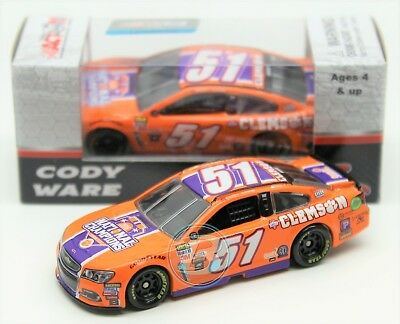 Cody Ware 2017 ACTION 1:64 #51 Clemson University Chevy Nascar Monster Diecast