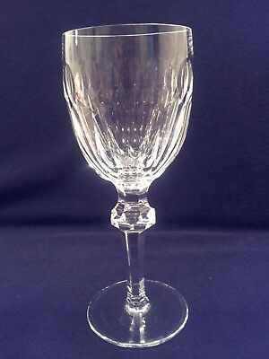 "Vintage signed WATERFORD Crystal ""Curraghmore"" 7 1/8"" Claret Wine Goblet"