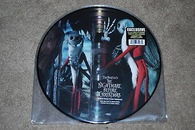 Tim Burton Disney THE NIGHTMARE BEFORE CHRISTMAS - 2 LP vinyl picture disc - NEW