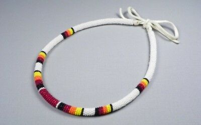 "17"" Beaded Choker Necklace"