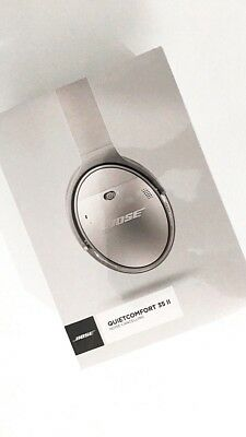 BNIB Bose QC35 QuietComfort 35 II Noise Cancelling Wireless Headphones - Silver