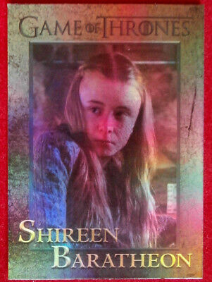 GAME OF THRONES - SHIREEN BARATHEON - Season 4 - FOIL PARALLEL Card #99