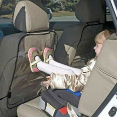 PVC Car Seat Back Cover Protector Child Kick Prevention Mat Car Protector Cover