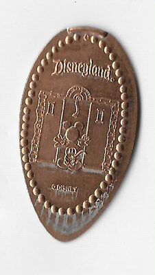 Very Rare Disney Disneyland Error Tower Of Terror Mickey Elevator Pressed Penny