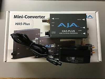 AJA HA5-PLUS - HDMI to 3G-SDI Converter