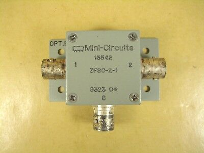 Mini-Circuits  15542 ZFSC-2-1  Power Divider