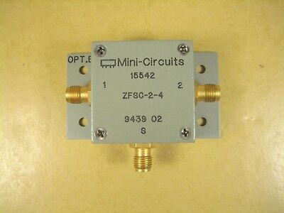 Mini-Circuits  ZFSC-2-4  0.2 to 1000 MHz  Power Splitter/Combiner