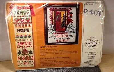 The Creative Circle 2401 Symbols Of The Season Bullpen 1987 New