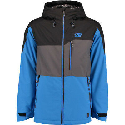 O Neill Exile Mens Jacket Snowboard - Victoria Blue All Sizes
