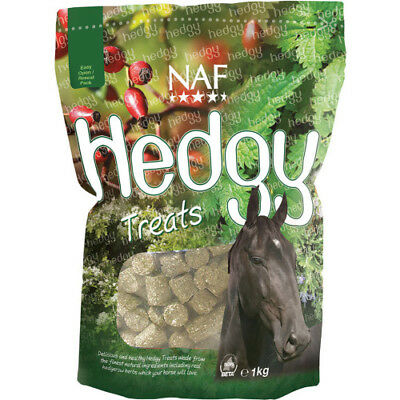 Naf Hedgy 1kg Unisex Stable And Yard Horse Treats - Brown All Sizes