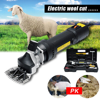 5600rpm Electric Sheep Shearing Clipper Shear Goats Supplies Alpaca Farm Shears