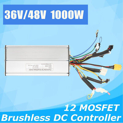 36V/48V 500W/700W E-Bicycle E-bike Scooter Brushless DC Motor Speed Controller