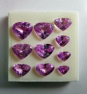 Kunzite Outstanding 273 Carat 10 Pieces Lot From Afghanistan