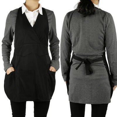 Hairstylist Hairdressing Hair Cutting Apron Cape Gown for Barber Black AR1