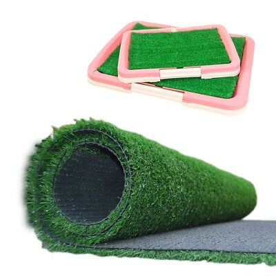 Pro Pet Dog Grass Pad Pee Mat Patch Puppy Potty Trainer Indoor Training Toilet