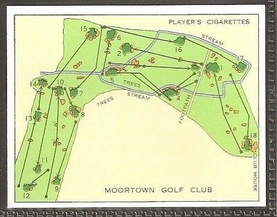 Players Large Card-Championship Golf Courses-#18- Moortown