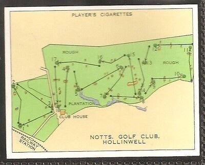 Players Large Card-Championship Golf Courses-#19- Notts