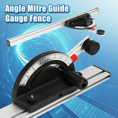 Table Saw BandSaw Router Angle Miter Gauge Mitre Guide Fence Cut For Woodworking