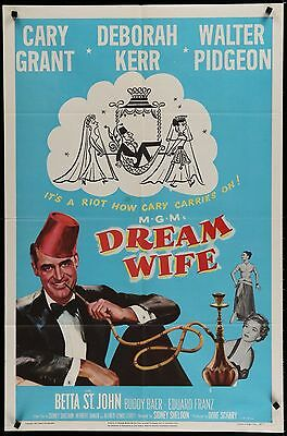 DREAM WIFE - Cary Grant -  original film / movie poster poster