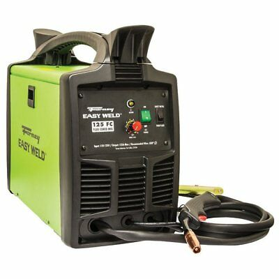 Forney Industries Forney 299 Easy Weld Flux-Core Welder, 125 Amps, 120 Volts