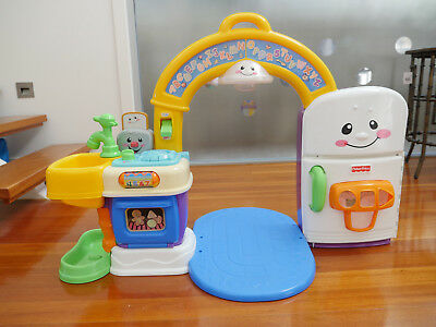 Fisher Price Laugh & Learn 2 in 1 Learning Kitchen