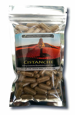 Cistanche Extract ( 20:1 equivalent to 8,000mg ), 30 - 90 Vegetarian Capsules