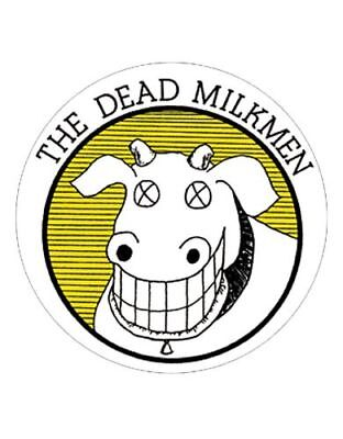 Parche imprimido /Iron on patch, Back patch, Espaldera / - The Dead Milkmen