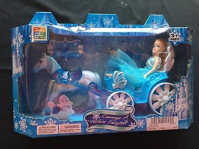 Carriage A Fashion Fairytale Fairy With Royal Carriage