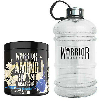 Warrior Amino Blast BCAA Powder Amino Acids 270g Intra Workout Added Glutamine