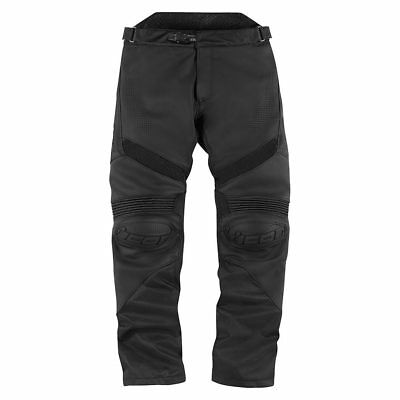 Icon Hypersport Leather Motorcycle Motorbike Trousers Pants   All Sizes