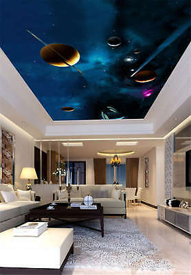 Consecrate Planet Full Wall Mural Photo Wallpaper Print 3D Ceiling Decor Home