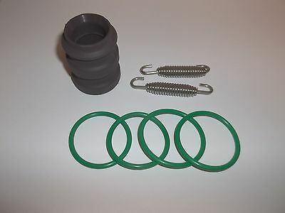 Exhaust O-rings + Pipe Springs + Muffler Flange Rubber KTM 65 85 85SX 65SX 105