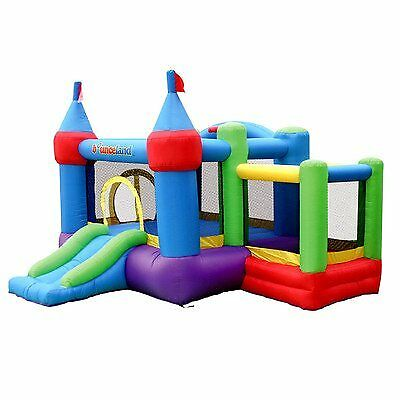 Bounceland Inflatable Dream Castle with Ball Pit Bounce House Bouncer, New