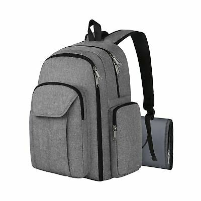 Baby Diaper Bag Backpack Travel Anti Theft Organizer Back Bags with Stroller ...