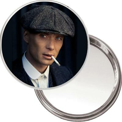 Unique Purse Mirror with image of Tommy Shelby - Cillian Murphy Peaky Blinders