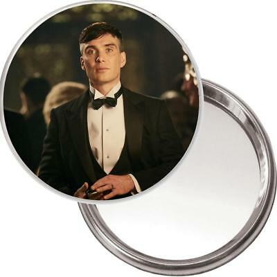 Purse Mirror with image of Tommy Shelby in a DJ - Cillian Murphy Peaky Blinders