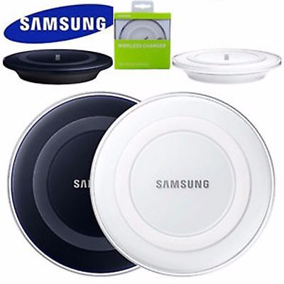 Samsung Galaxy S6 S6+ S7 S7 Plus Edge Qi Wireless Charger Charging Pad Plate