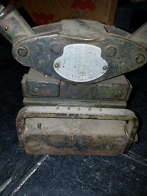 CLIPPER FLAT BELT LACER No. 3 -for 6 in.- Conveyor / Hit Miss engines VINTAGE