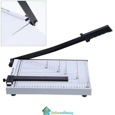 A4 Paper Guillotine Cutter Trimmer Professional Machine Safety Office Home Tool