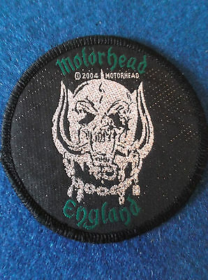 Motorhead cloth sew on patch