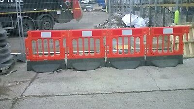 90 SAFETY BARRIERS.road traffic,pedestrian control,health&safety work barriers.