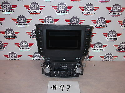 Acura TL 2004 2005 2006 2007 2008 radio cd and tape player screen 39100-SEP-C010
