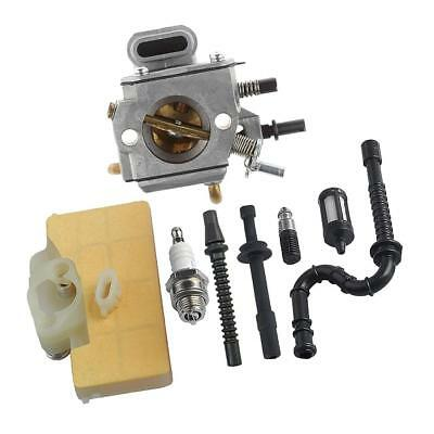 Carburetor with Air Oil Filter Fuel Line for STIHL MS290 MS310 MS390 029 039