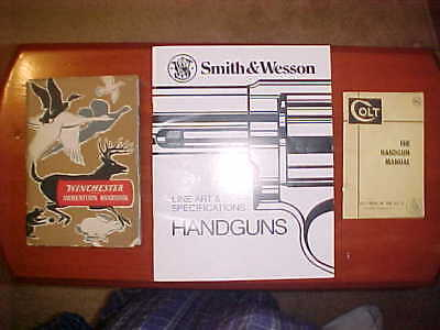 Winchester Ammunition Handbook, Smith & Wesson Handguns, Colt Handgun Manual-Lot