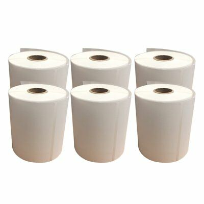 4X6 Direct Thermal Self Adhesive Shipping Label Zebra 2844 250/Roll -10 Rolls