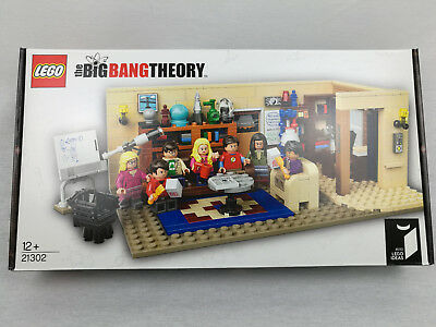 LEGO Ideas The Big Bang Theory (21302) NEU! Komplett!