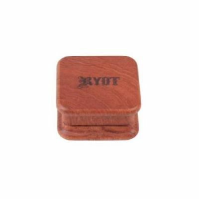 RYOT 1905 2pc SQUARE Magnetic Rosewood Grinder
