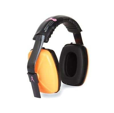 National Breast Cancer Force360 Earmuffs Pink or Orange hearing protection